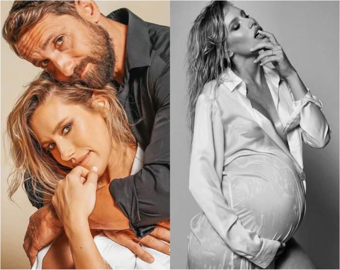 """Cum arată Gabriela Prisăcariu în luna a noua de sarcină. """"Fericită chiar și cu 20 de kilograme în plus"""" / FOTO"""
