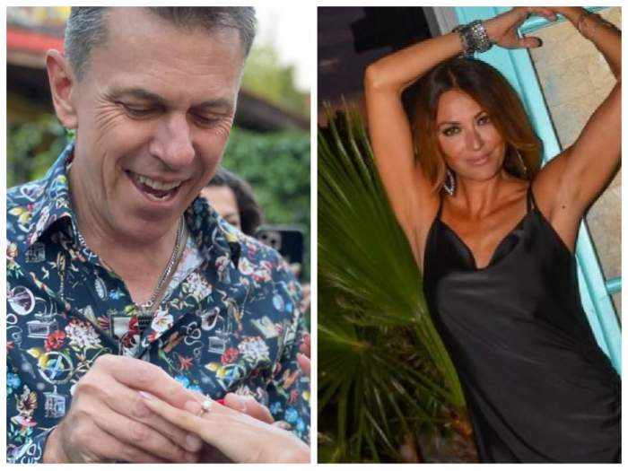 Colaj cu Cristian Georgescu la cerea în căsătorie și o poză cu Anca Țurcașiu