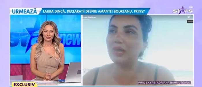 Adriana Bahmuțeanu, în direct la Antena stars, de la mare