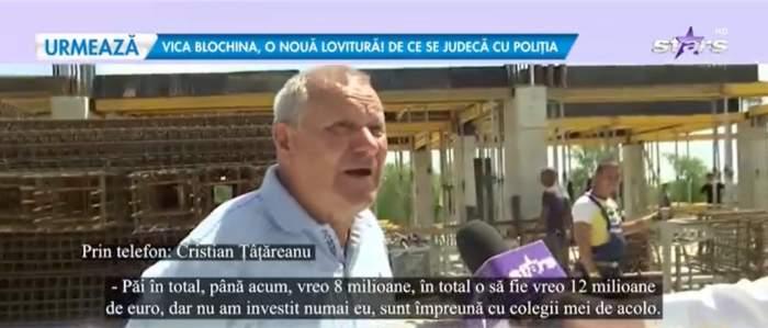 Cristian Țânțăreanu, captură din emisiune