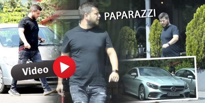 Honorius Prigoană, pericol în trafic, în fuga spre restaurant. Fiul celebrului afacerist a încălcat regulile de circulație pentru a ajunge cât mai repede să mănânce / PAPARAZZI