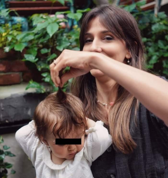 dana rogoz cu fiica ei