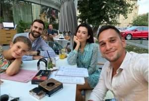 """Actorii din """"Sacrificiul"""" s-au reunit! Mădălina Bellariu Ion, întâlnire cu Denis Hanganu și Vlad Gherman / FOTO"""