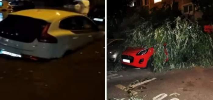 Inundațiile au făcut prăpăd în zeci de gospodării din Bârlad. Au fost emise trei avertizări Ro-Alert
