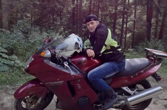 motociclist lovit trafic
