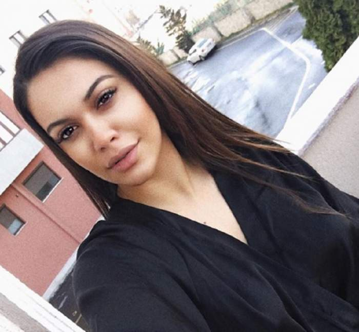 Betty Vișănescu, selfie nemachiată, îmbrăcată în negru