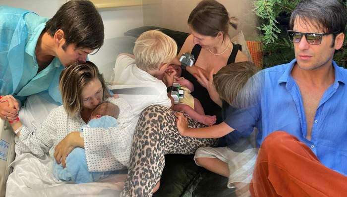 Radu Vâlcan a dezvăluit numele celui de-al treilea copil al său și al Adelei Popescu. Cum îl cheamă pe mezinul familiei