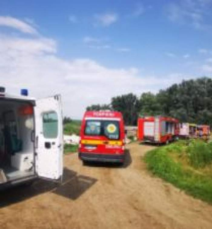 Mașini de salvare la Suceava