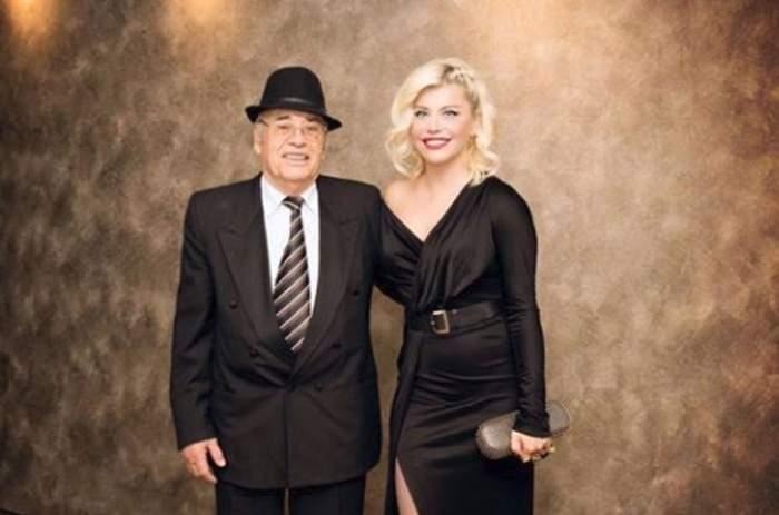 Loredana și Vasile Groza, îmbrăcați în negru