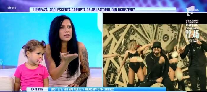 Florentina, fosta amantă a lui Costel Biju, la Acces Direct