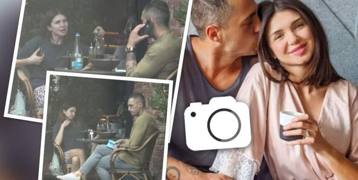 Vladimir Drăghia și Alice Cavaleru, familia perfectă doar în mediul online. După o ceartă în public, șatena l-a lăsat cu ochii în soare pe soțul ei / PAPARAZZI