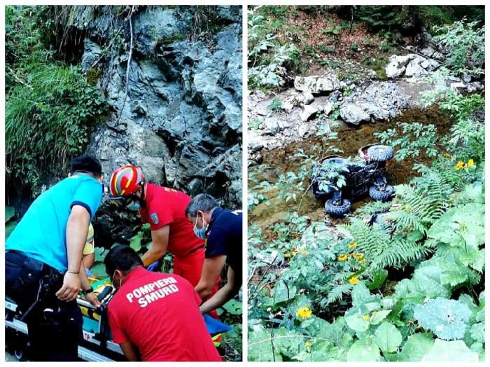 colaj cu accidentul mortal de ATV și victima lui
