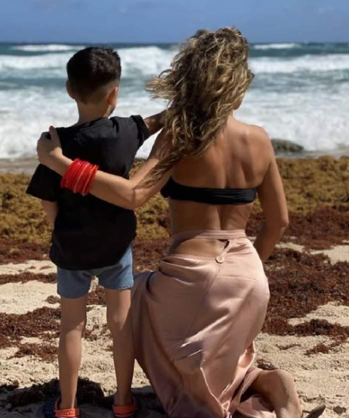 """Fiul Annei Lesko face senzație la Splash! Vedete la apă. Prezentatoarea a surprins săritura perfectă a micuțului: """"Băiatul meu!"""" / VIDEO"""