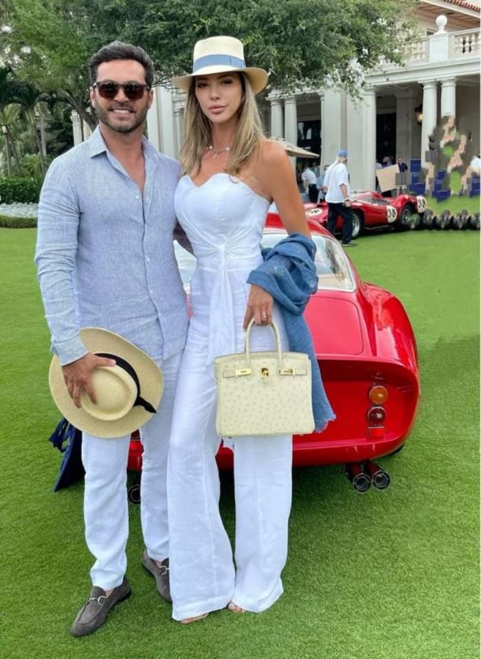Informații șocante despre soțul milionar al Alinei Vidican. Claude Senhoreti și-ar fi agresat fosta soție