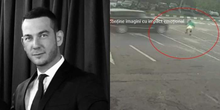barbatul care a lovit un angajat, imagini spalatorie