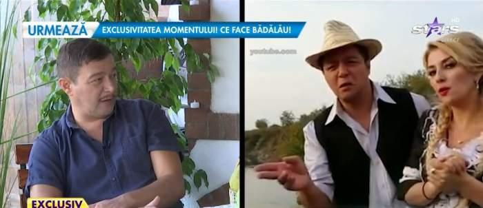 Văru Săndel, în timpul interviului la Antena Stars