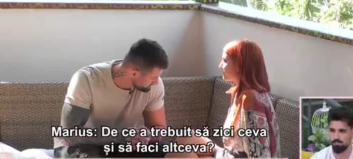 """Relația dintre Ana și Marius din casa Mireasa, spulberată de o scrisoare: """"Chiar îmi doresc să învăț din greșeli"""" / VIDEO"""