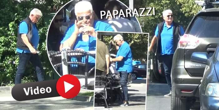 Imagini rare cu Ioan Andone, suprinse de paparazzi Spynews.ro. Unde și cu cine își petrece celebrul antrenor o zi obișnuită / PAPARAZZI