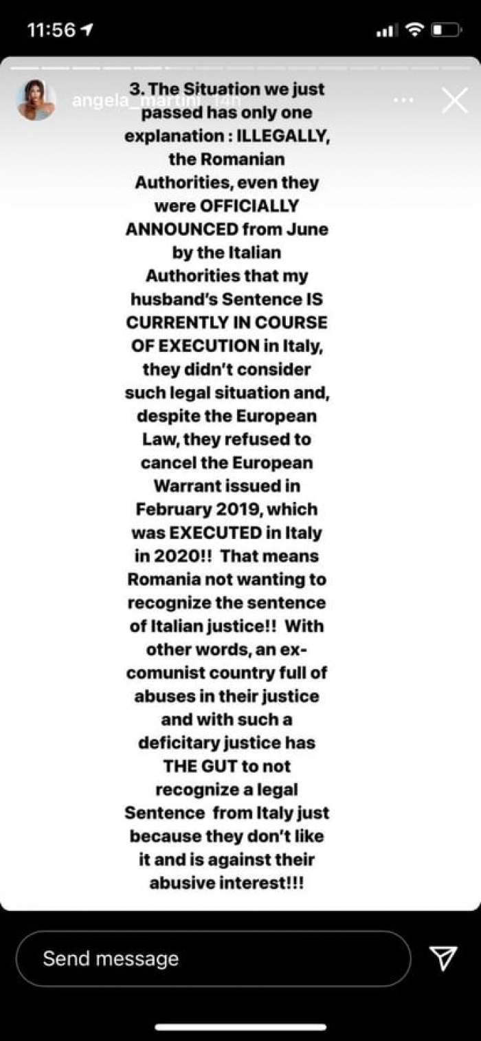 Angela Martini, soția lui Dragoș Săvulescu, declarații bombă! Se ascundea sau nu cuplul de autorități? Informații neștiute din dosar / FOTO