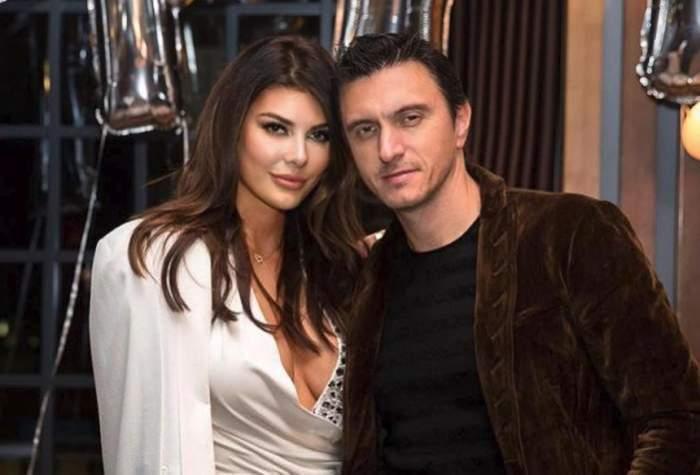 Angela Martini și Dragoș Săvulescu, împreună, zâmbitori