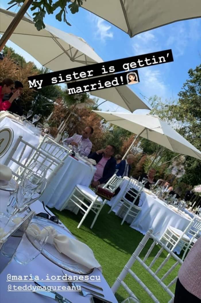 Imagini de la locația unde are loc nunta
