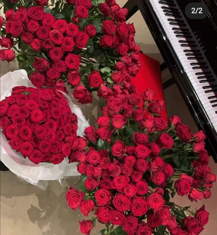 Florile primite de Daria Radionova