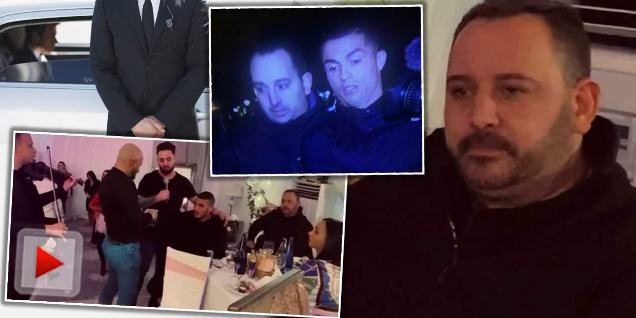 """VIDEO / Fostul bodyguard al lui Cristiano Ronaldo, chef pe manele, cu interlopii din România / De la """"Número uno"""", la """"Fără număr!"""""""