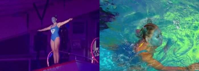 Emy Alupei la Splash! Vedete la apă