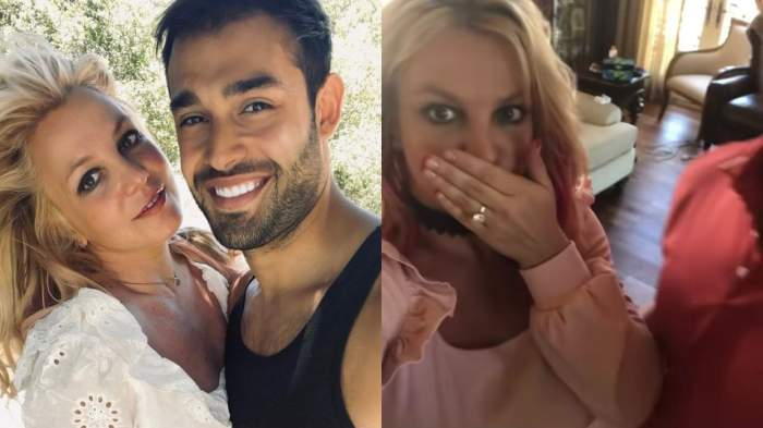 Britney Spears s-a logodit cu actorul Sam Asghari! Primele imagini cu inelul de logodnă a vedetei / FOTO