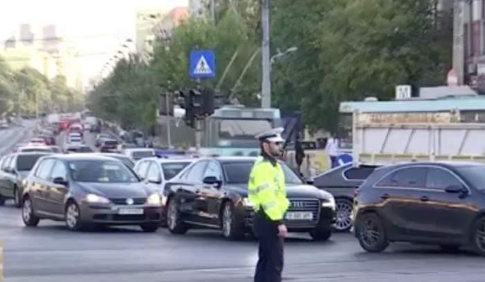 Trafic infernal în Capitală, în prima zi de școală. Zeci de mașini au format cozi uriașe pe bulevarde / VIDEO