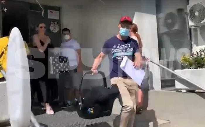 Imagini emoționante cu Gabriela și Dani Oțil! Cei doi și-au luat îngerașul acasă! VIDEO EXCLUSIV / PAPARAZZI