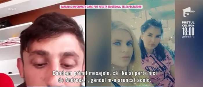 """Acces Direct. Fostul iubit al Alinei face declarații șocante. Tânărul spune că Alina i-ar fi aruncat gemenii de la etajul 10: """"Din gelozie"""""""