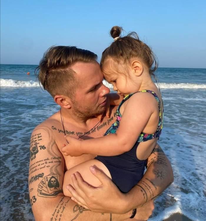 Codin Maticiuc, mărturisiri despre fiica lui. Cum reușește vedeta să o răsfețe pe micuța Smaranda / VIDEO