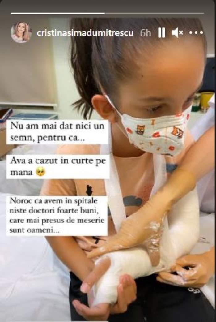 Fetița lui Florin Dumitrescu, de urgență la spital. Ce a pățit micuța Ava / FOTO