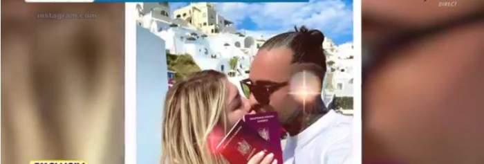 Cornel Oană și iubita lui în vacanță
