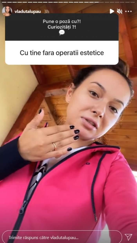 """Vlăduța Lupău, acuzată că și-a făcut operații estetice. Răspunsul artistei: """"E fața mea"""" / VIDEO"""