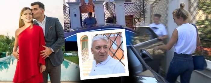 """Imagini în timp real de la nunta Simonei Halep. Tatăl sportivei, declarații exclusive la Antena Stars: """"Le doresc sănătate, în rest au de toate"""" / VIDEO PAPARAZZI"""