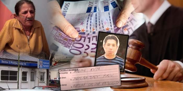Cât plătește Poliția Capitalei pentru tânărul torturat și ucis în Secția 10! Mama victimei a murit înainte de a fi dată sentința