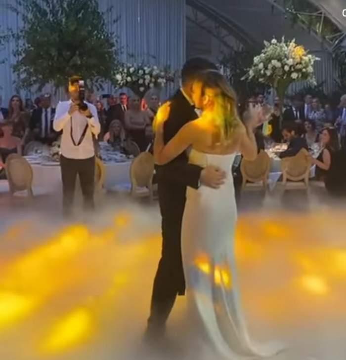 Simona Halep și Toni Iuruc, dansul mirilor pe o melodie cântată de un artist român. Imaginile postate de sportivă pe contul personal de Instagram