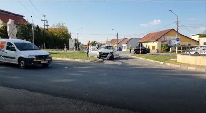 Accident de proporții la Caransebeș, soldat cu şapte victime. Vinovate sunt două șoferițe de 29 de ani / FOTO