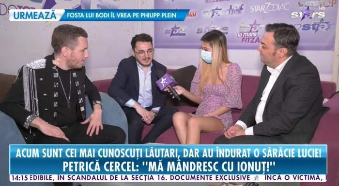 Ultima apariție TV a lui Petrică Cercel. Manelistul a fost prezent alături de fiul lui, Ionuț Cercel, în platoul Antena Stars / FOTO