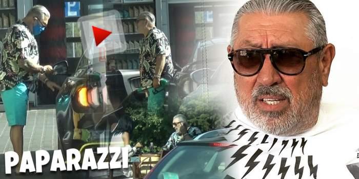 Serghei Mizil, gest jenant în văzul lumii! Afaceristul nu a ținut cont de cine este în jurul lui / PAPARAZZI