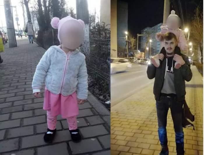 fetita de doi ani si tatal ei