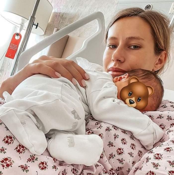 gabriela priscariu la spital dupa ce a nascut