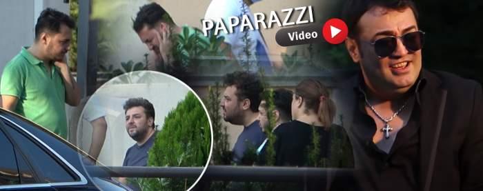 Imaginile durerii din fața spitalului în care a murit Petrică Cercel. Familia și prietenii regretatului manelist l-au păzit întreaga noapte / PAPARAZZI