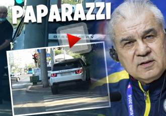Anghel Iordănescu se lasă greu când vine vorba de afaceri! Fostul senator este foarte calculat când sunt bani în joc / PAPARAZZI