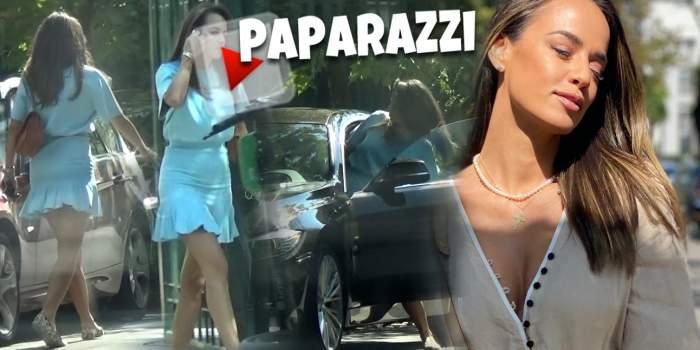 Andreea Raicu, apariție sexy în oraș. Cum a fost surprinsă vedeta în timp ce se întorcea acasă de la un salon de înfrumusețare / PAPARAZZI