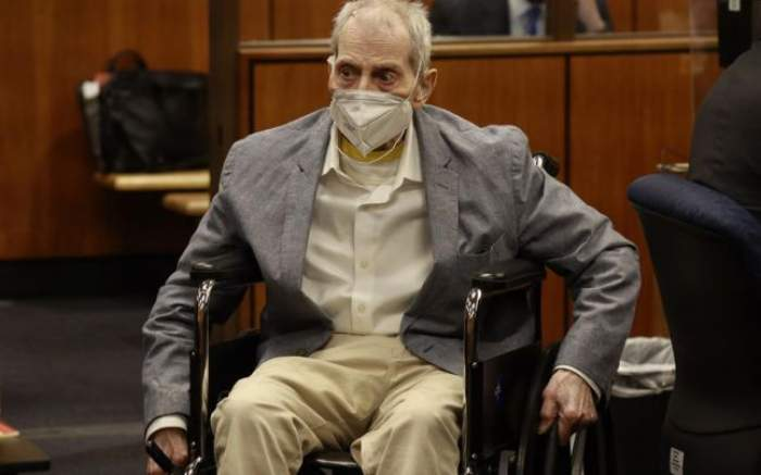 Robert Durst, în sala de judecată