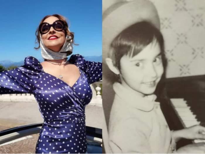 """Andreea Marin, amintiri din perioada copilăriei. Vedeta a postat imagini emoționante din primii ani de viață: """"Am lăsat lacrimile să curgă"""" / FOTO"""