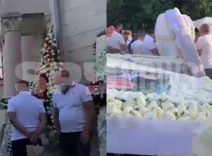 Petrică Cercel a fost înmormântat doar cu familia. Restul persoanelor care au vrut să îl conducă pe ultimul drum au fost scoase afară din cimitir / VIDEO